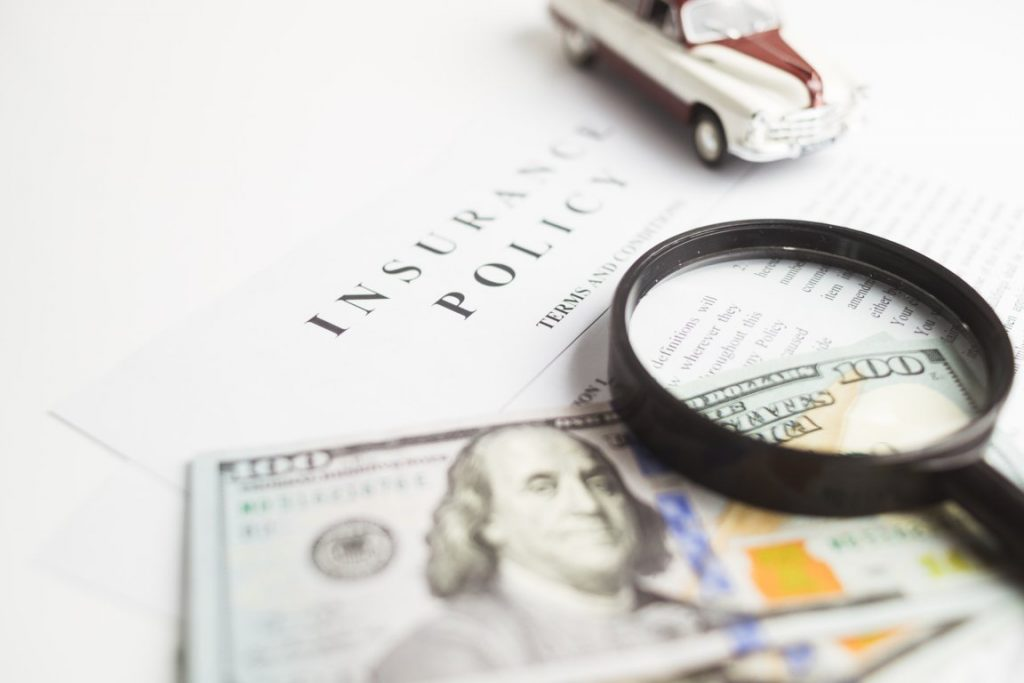Monthly or annual auto insurance premiums